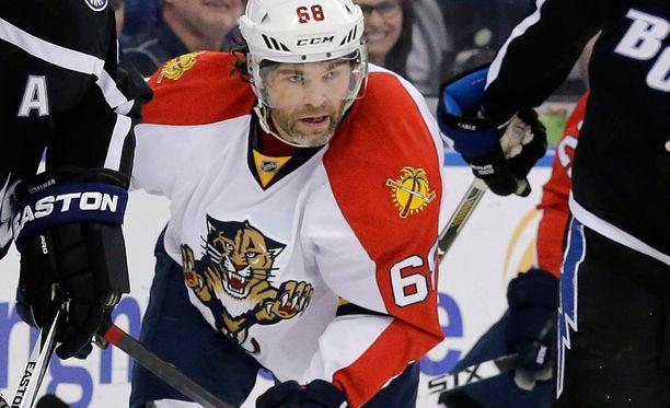 Jaromir Jagr on Tshekin jääkiekon kaikkien aikojen pelaaja.
