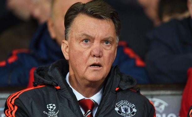 Louis van Gaalia huhutaan ulos Manchesterista. Hänen sopimuksensa kattaa kauden 2016-2017.