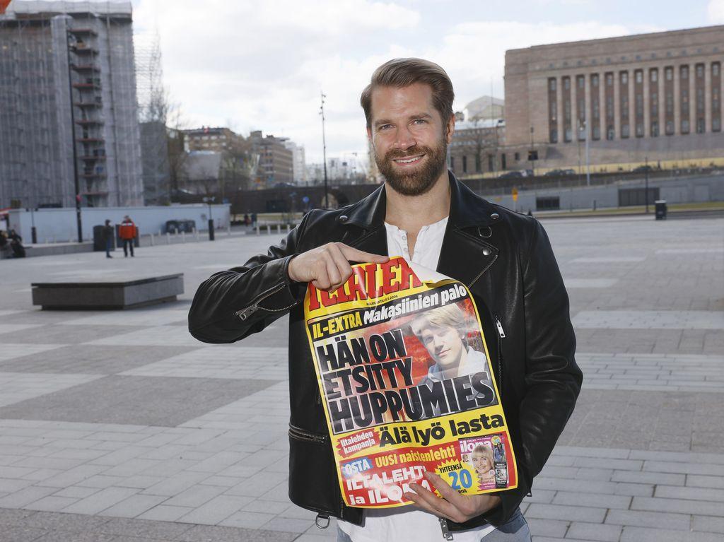 Andreas Hamberg päätyi aikanaan Iltalehden lööppiin.