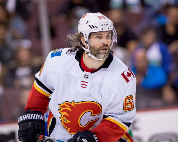 Jaromir Jagr päätti NHL-uransa Calgary Flamesissa.