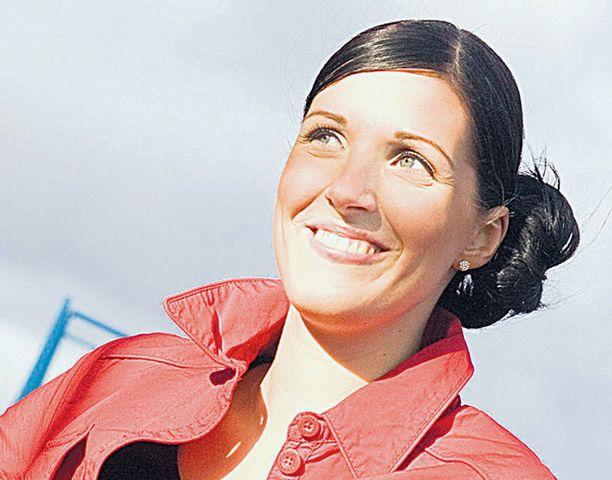 ONNISTUJA Laura Savolainen tietää, että laihtuminen on halusta kiinni.