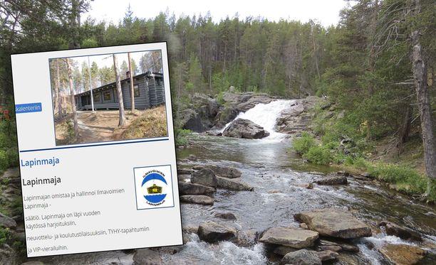 Inarin Lemmenjoella sijaitsevan hirsimökin omistaa ja sitä hallinnoi Ilmavoimien Lapinmaja-säätiö.