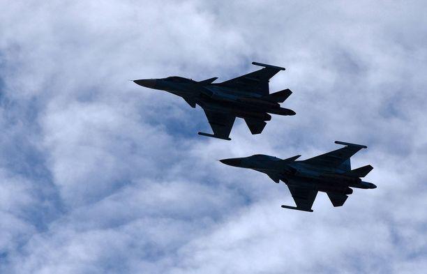 Venäläinen sotilaslentoliikenne Itämeren alueella on lisääntynyt selvästi.