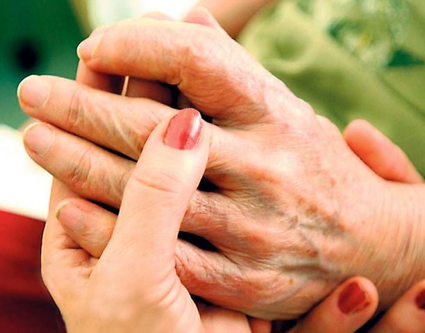 Kosketus on yksi voimakkaimmista rauhoittumisvirikkeistä.