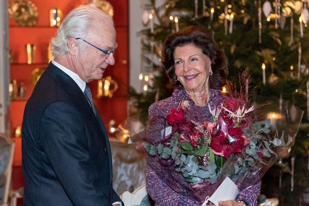 Kuningatar Kaarle Kustaalla ja Silvialla on riittänyt juhlittavaa kuluneen viikon aikana, kun Silvia täytti 75 vuotta.