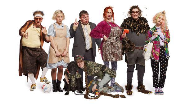 Seitsemän uutta Putous-hahmoa naurattavat yleisöä lauantaisin MTV3-kanavalla.