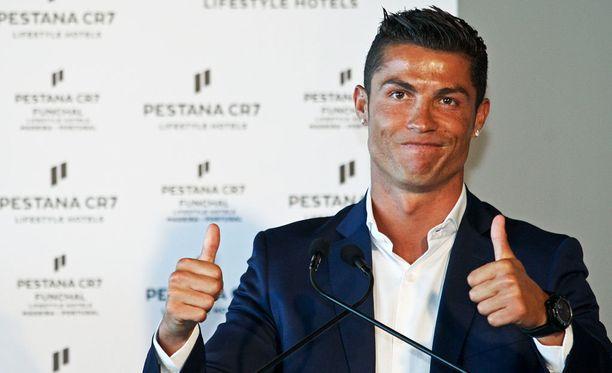 Ronaldo aloitti kesällä yhteistyön Pestana Hotel Group -ketjun kanssa.