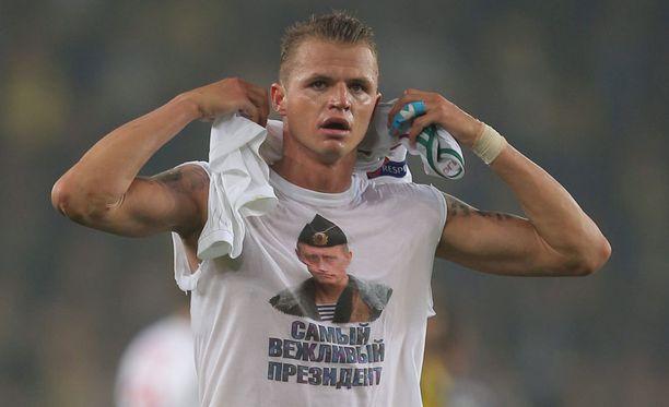 Dmitri Tarasov sai 300 000 euron suuruisen sakon seuraltaan.