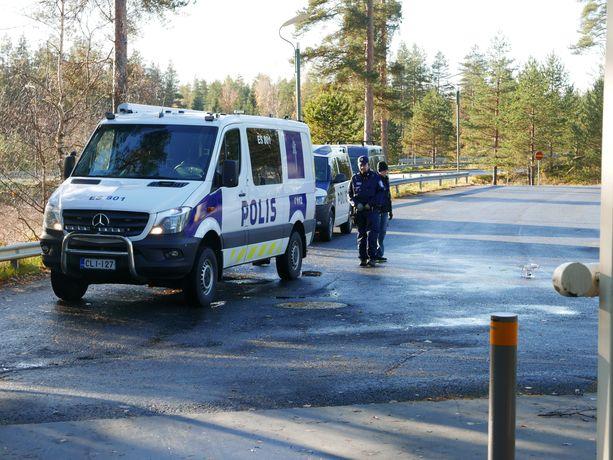 Kuortin ABC:lla oli tapauksen vuoksi iso poliisioperaatio lokakuussa.