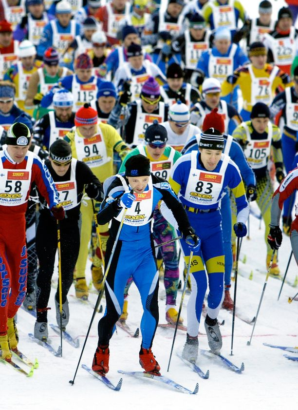 Finlandia-hiihtoa ei ole jouduttu perumaan 40 vuoteen.