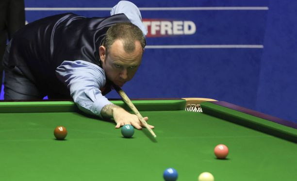 Mark Williams on snookerin tuorein maailmanmestari.