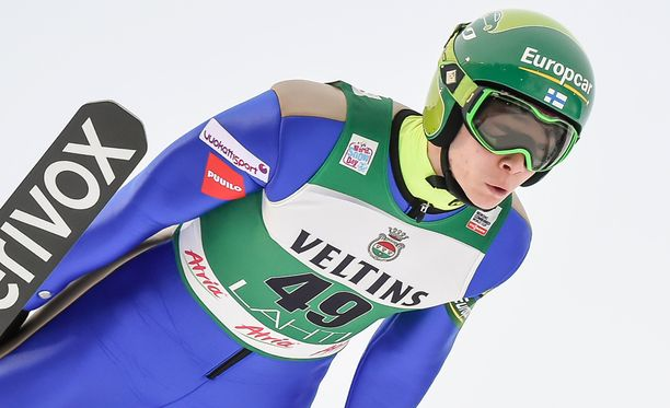 Eero Hirvonen oli mäkiosuudella ylivoimaisesti paras suomalainen.