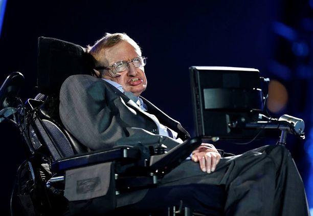 Stephen Hawkingilta ei herunut hyviä ajatuksia Donald Trumpista.