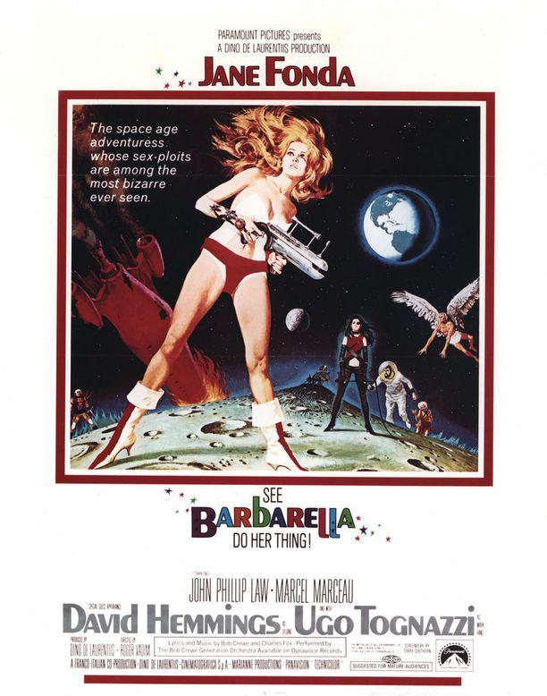 Rooli Barbarellana sinetöi Fondan aseman seksipommina. Näyttelijästä on ollut kuitenkin myös paljon muuhun.