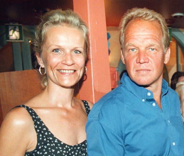 Marita ja Heikki Riihiranta kuvattuna vuonna 1998.