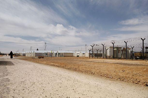 Pakolaisleiri Jordaniassa on karun näköinen.