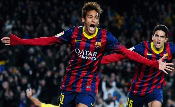 Neymar testaa Cityn vireen.