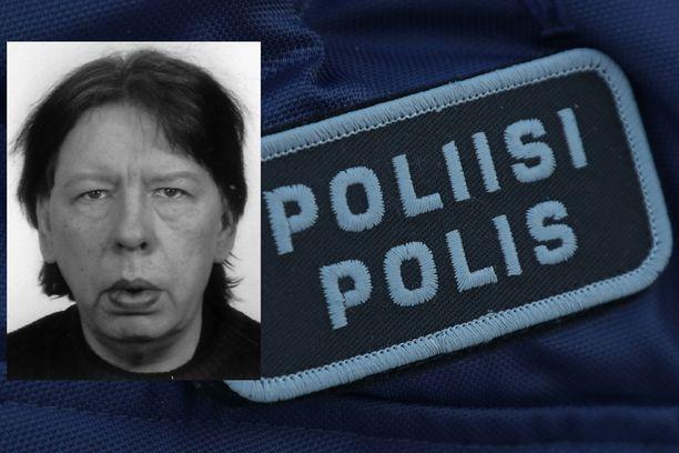 Poliisi kaipaa havaintoja kuvan miehestä.