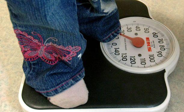 Psoriaasi on yleistä lihavilla lapsilla.