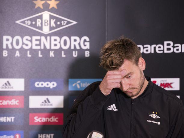 Nicklas Bendtner sai ehdottoman vankeusrangaistuksen.