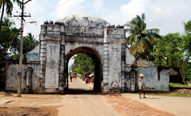 Kaupungin portti on rakennettu tanskalaisajalla.