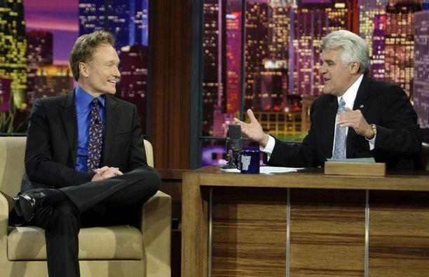 Jay Leno haastatteli viimeisessä luotsaamassaan Tonight Show'ssa seuraajaansa Conan O'Brienia.
