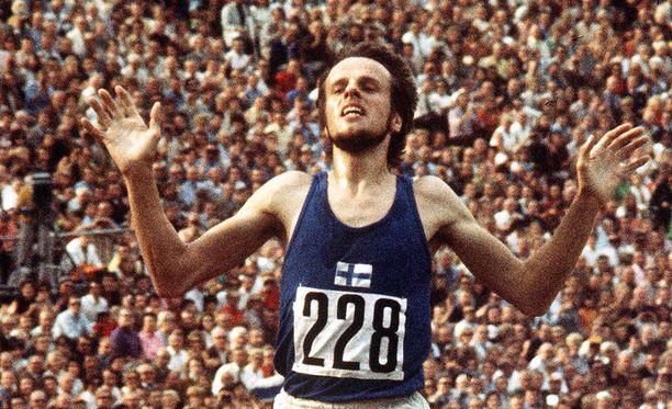 Vasse Viren kaatui, nousi ja juoksi olympiavoittajaksi ME-ajalla.