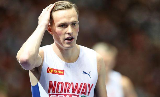 Norjan Karsten Warholmia syytettiin astamalääkkeiden käytöstä.