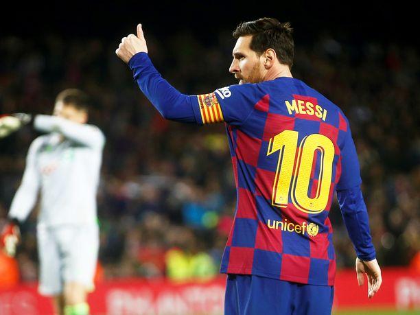 Lionel Messi on toiminut Barcelonan kapteenina sen jälkeen kun edellinen kapteeni Andrés Iniesta siirtyi pelaamaan Japaniin.