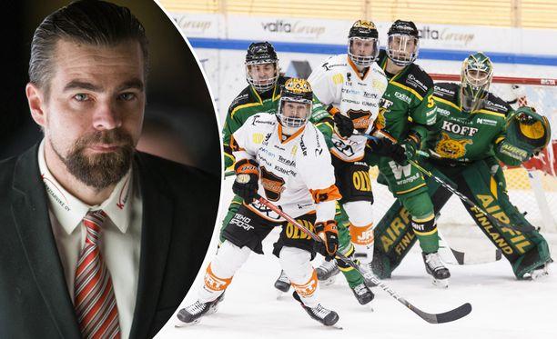 Jussi Ahokkaan valmentaman KooKoon kausi päättyi.