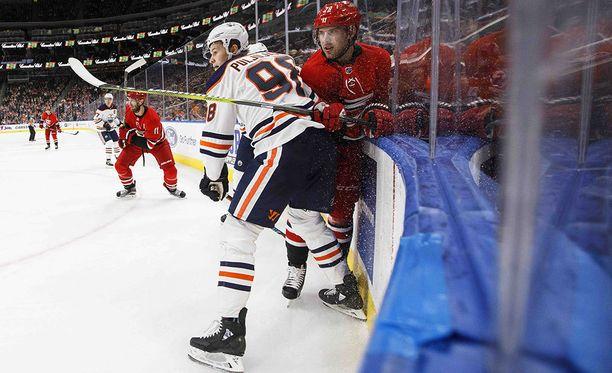 Jesse Puljujärvi on tavoitellut tosissaan paikkaa Edmontonin NHL-miehistöstä.