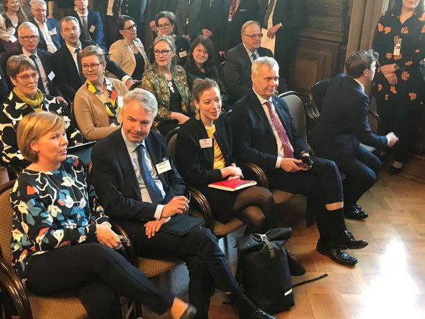 Hallitusneuvottelut alkoivat torstaina Helsingin Säätytalolla.