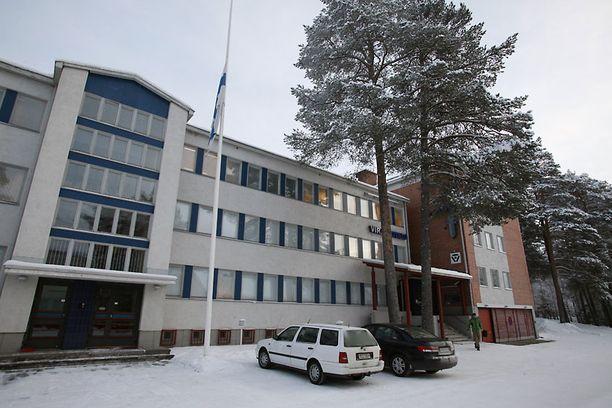 Pudasjärven poliisiasema oli kiinni torstaina.