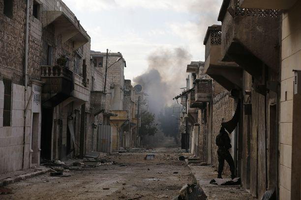 Al-Babin kaupungissa on käyty kiivaita taisteluja.