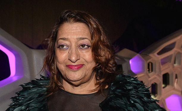Zaha Hadid taisteli aktiivisesti naisarkkitehtien puolesta.