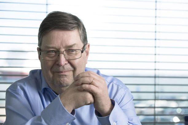 EK:n entinen työmarkkinajohtaja Lasse Laatunen.