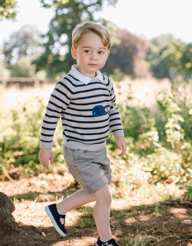Prinssi George on jo kolmevuotias.