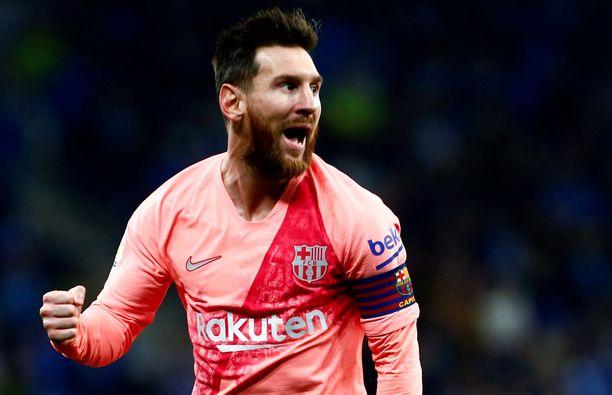 Leo Messi tempaisi jälleen yhden maagisen vaparimaalin.