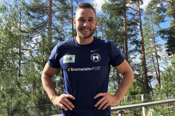Johannes Vetter painaa nyt 101 kiloa.