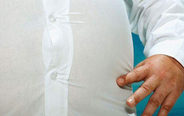Vyötärölihavuus vaikuttaa keuhkojen toimintaan ilman, että siihen yhdistyy muita terveysriskejä, kuten tupakointi.