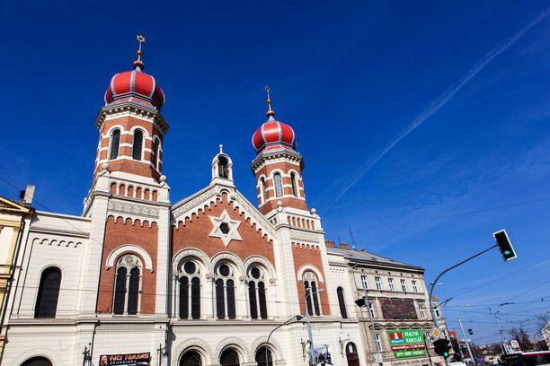 Plzeňin synagoga on yksi Euroopan suurimmista.