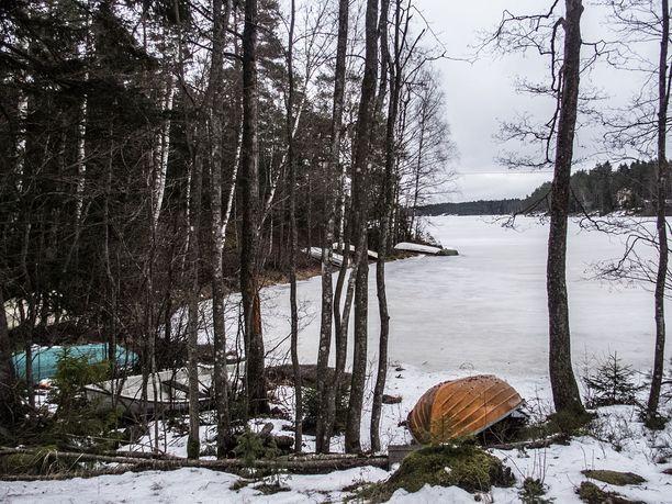 Arkistokuva Matildanjärveltä kansallispuiston alueelta.