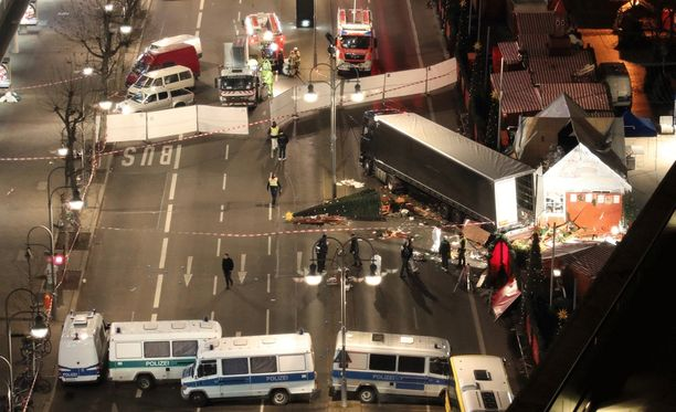 Berliinin iskussa kuoli 12 ihmistä ja 48 loukkaantui, osa vakavasti.