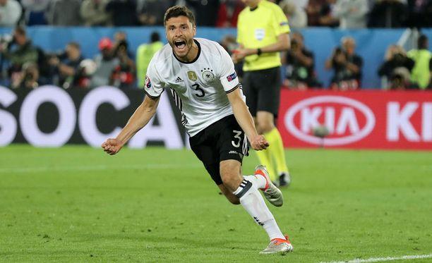 Hector ratkaisi lopulta ottelun Saksan eduksi.