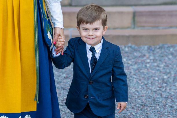 Erityisesti kiipeily on prinssi Oscarin mieleen.