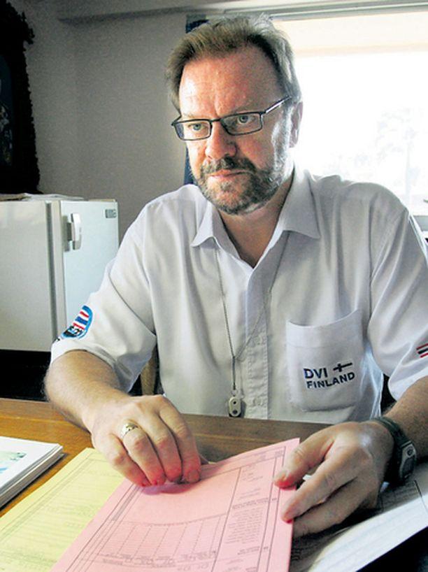 Rikoskomisario Ismo Kopra teki ansiokkaan työn kansainvälisen tunnistusryhmän suomalaisjäsenenä Thaimaassa.