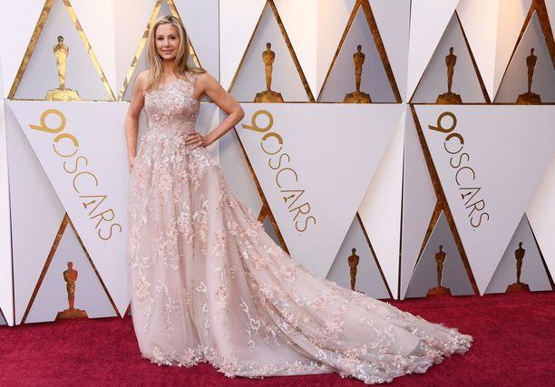 Mira Sorvino on kertonut julkisuudessa Weinsteinin ahdistelusta. Sorvino on Oscar-palkittu näyttelijä.