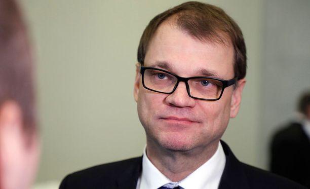 Pääministeri Juha Sipilän mukaan Nordean pääkonttorin siirtäminen euroalueella olisi myös Nordean etu.
