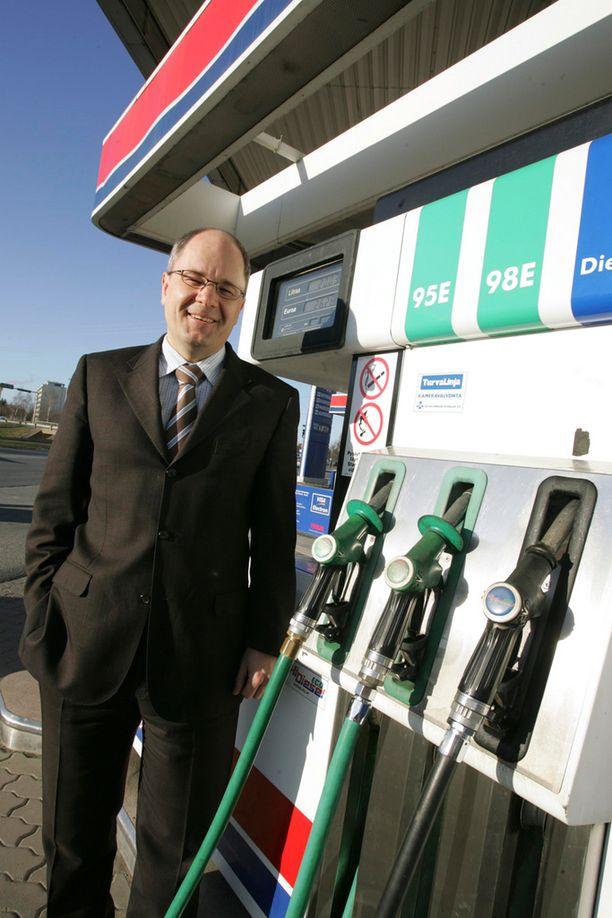Mika Hokkanen arvioi, ettei sakkopelote bensiinivarkauksissa ole tarpeeksi korkea.