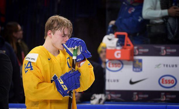 Lias Andersson pettyi rajusti tammikuun MM-finaalissa.